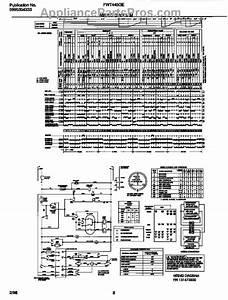 Parts For Frigidaire Fwt445ges2  Wiring Diagram Parts