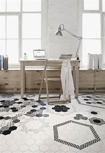 Carreaux De Ciment Hexagonaux : id es d co avec des motifs carreaux de ciment ~ Melissatoandfro.com Idées de Décoration