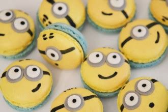 macarons minion sunny delices