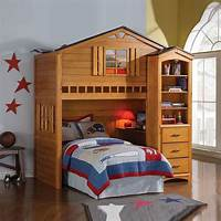 kid bunk beds Cool Kids Tree Houses Designs: Be the Coolest Kids on the ...