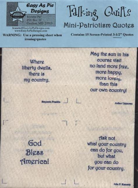 patriotism quotes quilters obsession