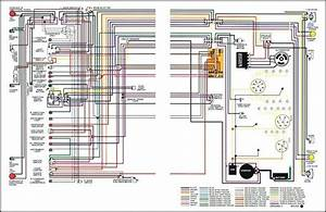 1967 Chevrolet Truck Full Colored Wiring Diagram Chevrolet