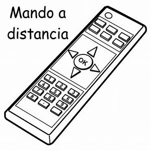 remote control in spanish free coloring pages coloring pages With pic remote control
