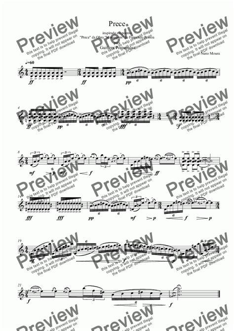 73 видео 18 515 просмотров обновлен 29 мая 2011 г. Prece for Portuguese Guitar - Download Sheet Music PDF file