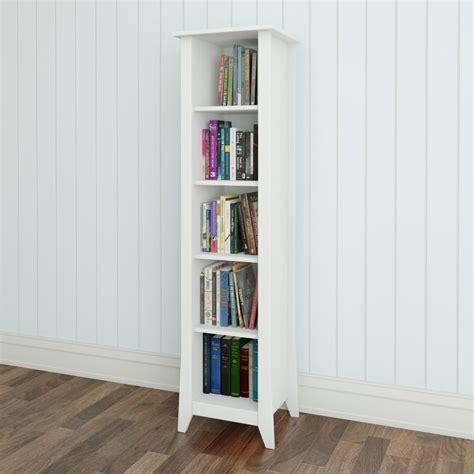 tall narrow white bookcase bookshelf inspiring deep bookshelf charming deep