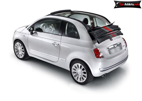 Gucci Fiat Convertible by Fiat 500c By Gucci Convertible Fiat 500 Frida Giannini