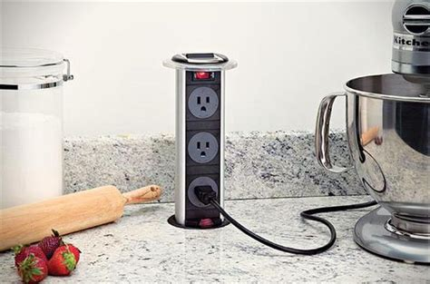 Popup Kitchen Power Grommet  Hiconsumption