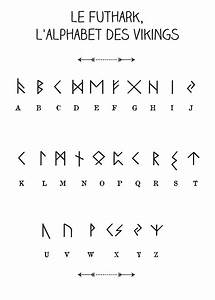 Dessin Symbole Viking : le futhark l 39 alphabet des vikings par l 39 atelier imaginaire les cr ations de l 39 atelier ~ Nature-et-papiers.com Idées de Décoration
