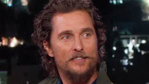 Matthew McConaughey Had a Blast with His 47-Pound Movie ...