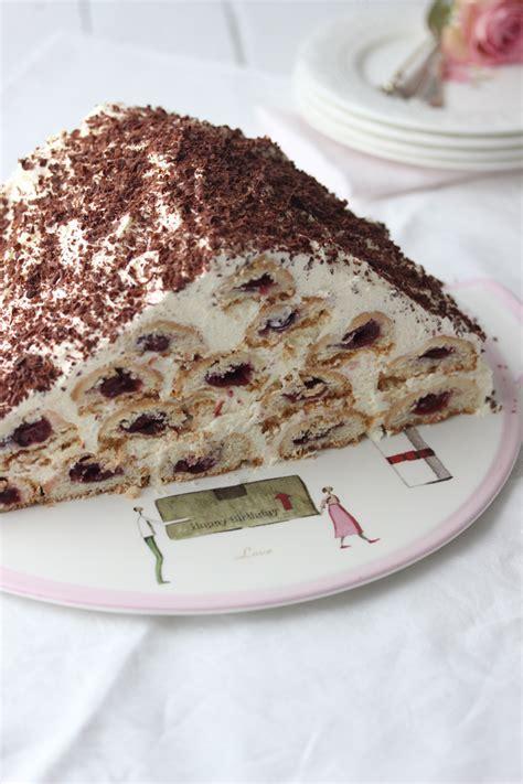 kirsch sahne sahne kirsch torte lisbeths