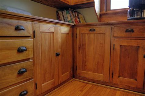 mission style cabinet handles craftsman kitchen with hardwood floors wood cabinets in