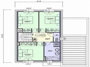 Plan Maison 1 Chambre 1 Salon : h v a lamotte maisons individuelles ~ Premium-room.com Idées de Décoration