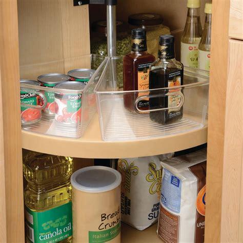 Lazy Susan Storage Bin In Cabinet Lazy Susans