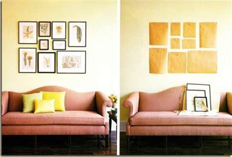 Wandgestaltung Hinter Sofa