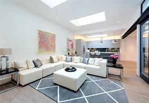 Groes Wohnzimmer Einrichten Perfect Beautiful Groes