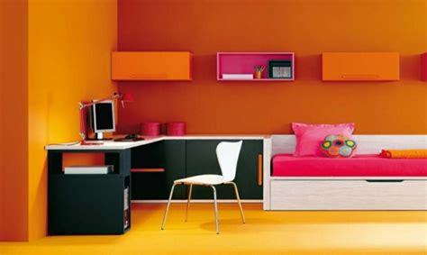 deco chambre orange d 233 co chambre ado orange