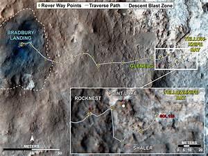 NASA's Curiosity Rover Nearing Yellowknife Bay