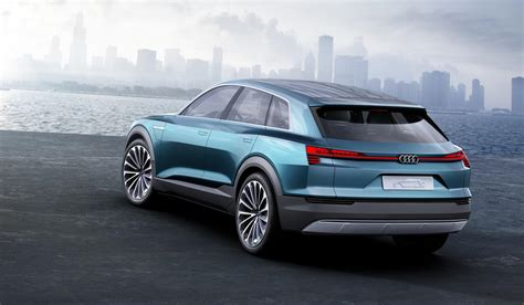 Audi Etron Quattro Concept  The 311mile Electric Suv