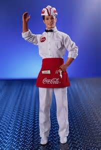 Coca-Cola Barbie Ken Doll