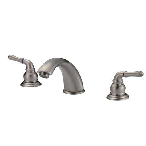 Designer Bathroom Faucets by Knightsbridge Widespread Contemporary Bathroom Faucet