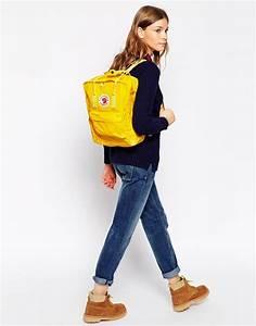 Fjallraven Kanken in Warm Yellow   s/s 2015   Pinterest   Kanken backpack Clothes and Backpacks