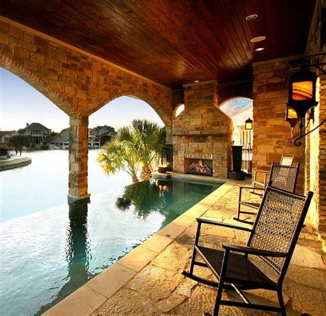 hottest poolside landscape trends  shape  sizzling summer outdoors