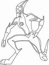 Ben Alien Ultimate Ausmalbilder Coloring Boys Malvorlagen Ausdrucken Kostenlos Zum sketch template