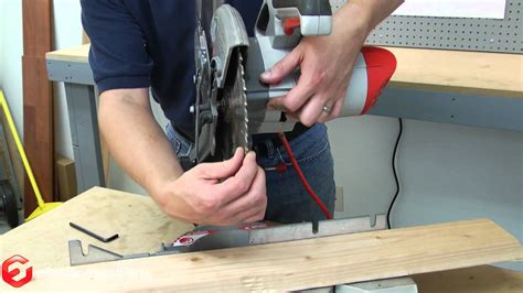 replace  blade   miter   quick fix youtube