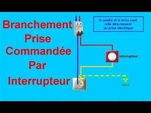 Branchement D Une Prise : schema branchement cablage prise command e par ~ Dailycaller-alerts.com Idées de Décoration