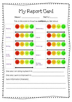 report card  assessment  emmy de greslan tpt