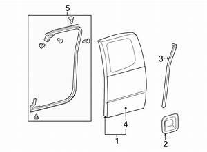 Toyota Tacoma Door Shell  Front