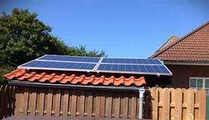 solar gartenhaus kleine solaranlagen auf dem schragdach With französischer balkon mit garten solaranlagen