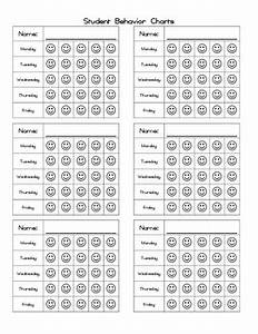 Weekly Student Behavior Chart By Prepped By Hays Creative