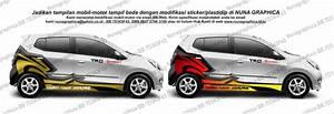 Jual Variasi Sticker Mobil Agya