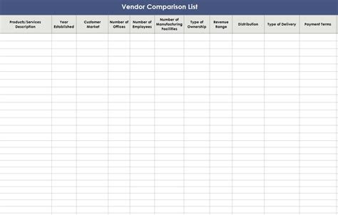 Vendor Comparison Template Business Letters & Memos - Assessment Iii For The Construction Industry Free Download To Bank Card Design Corel Draw In Kannada Of Appreciation All Hindi