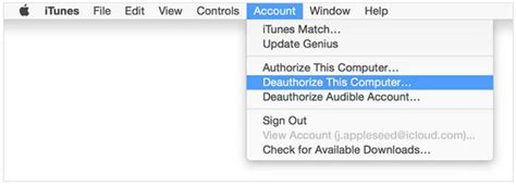How To Deauthorize Itunes Account On Old/dead Computer?