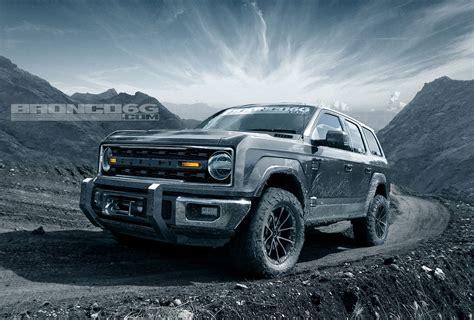 2020-2021 Ford Bronco Four-door Concept Rendering