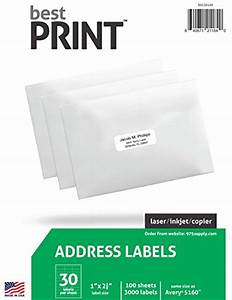30 up best print address labels 1quot x 2 5 8quot same size With best way to print labels