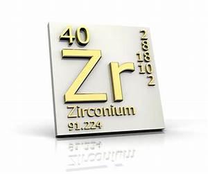 Zirconium Atomic Symbol