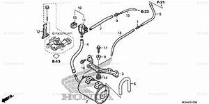 Honda Motorcycle 2006 Oem Parts Diagram For Evap Canister