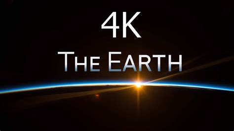 The Earth 4k Incredible 4k Uhd Video Of Earth From