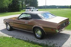 Medium Brown 1971 Ford Mustang Convertible