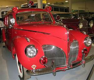 1941 Lincoln Zephyr Ambulance  With 12 Cylinder  120 Hp