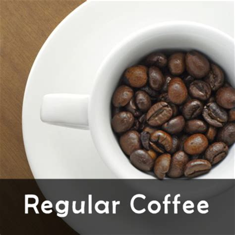 Decaf is just like regular coffee, except for its very small amount of caffeine content, which is about the regular coffee beans go through the decaffeination process which typically starts with steaming. Regular Coffee - Forest City Coffee