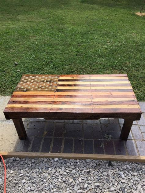 Shipment of the glass is risky, at best. American flag coffee table by WalkingEFurniture on Etsy | Homemade coffee tables, Coffee table ...