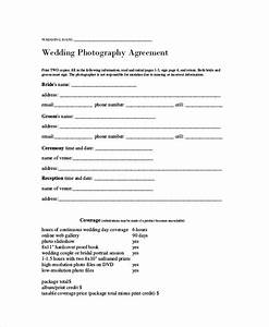 7 photography agreement contract samples sample templates With wedding photography contract pdf