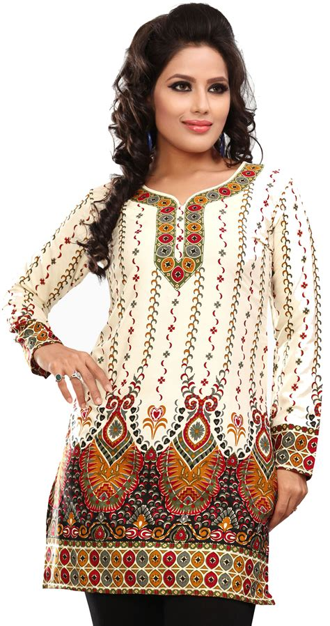 indian blouses womens printed india kurti tunic top blouse event28c3