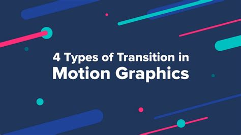 In Motion by 4 Types Of Transition In Motion Graphics Muzli Design