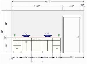Hauteur Standard Meuble Salle De Bain. meuble suspendu ...