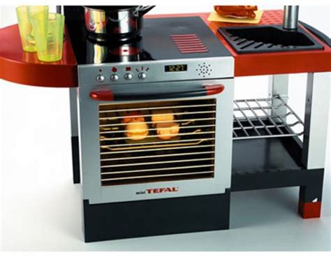 cuisine tefal cuisine cheftronic avec 19 accessoires smoby tout ge fille